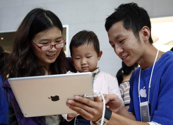 iPad Sales Soaring in China