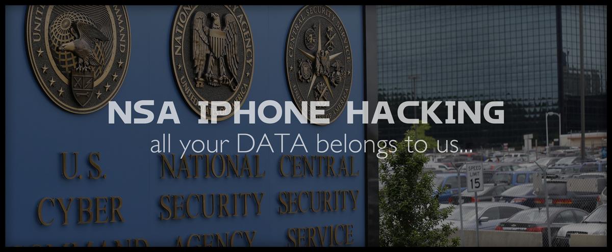 NSA iPhone hacking