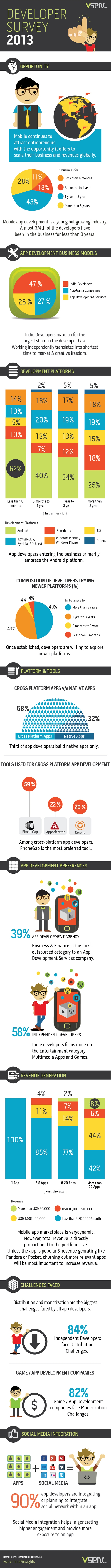 App Developer Survey Infographic