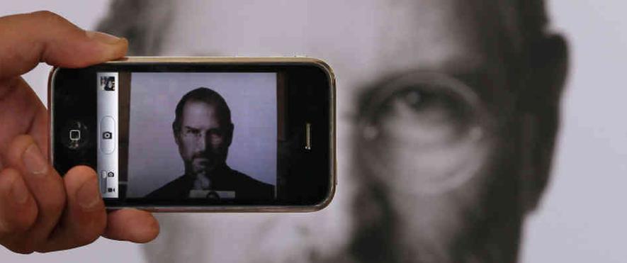 iphone steve jobs apple