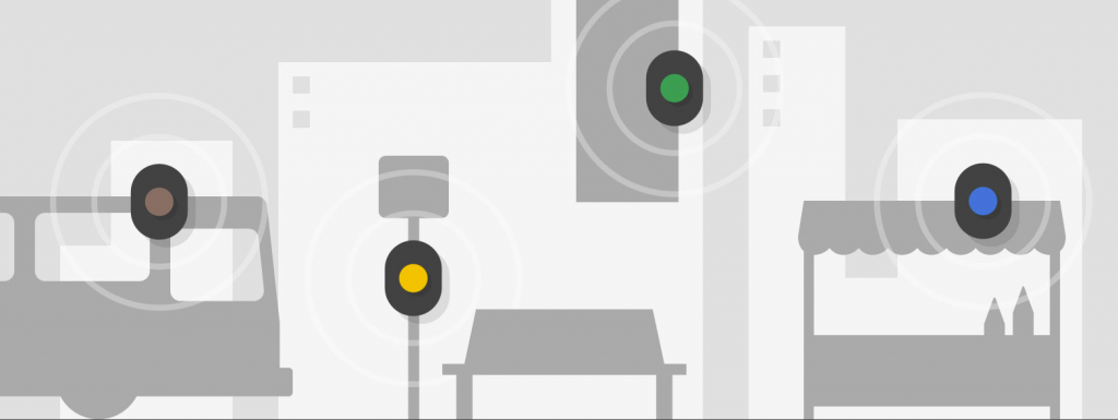 google beacon app development