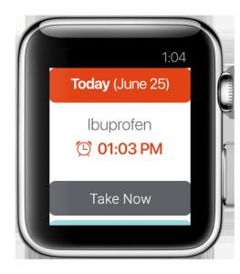 medbox apple watch app