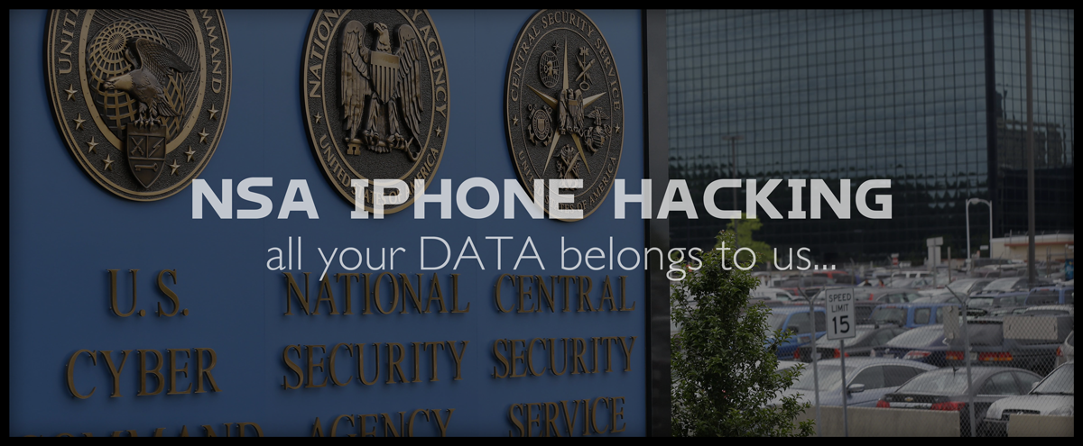 NSA iPhone hacking