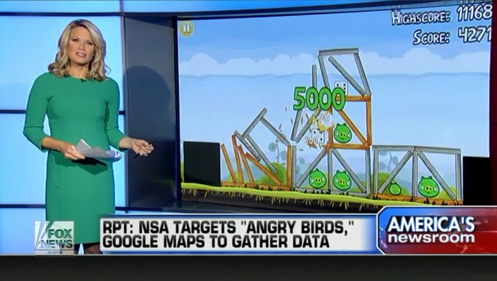 nsa spying angry birds