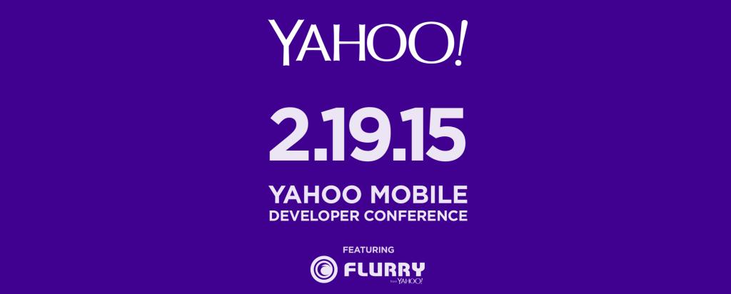 yahoo developer conference