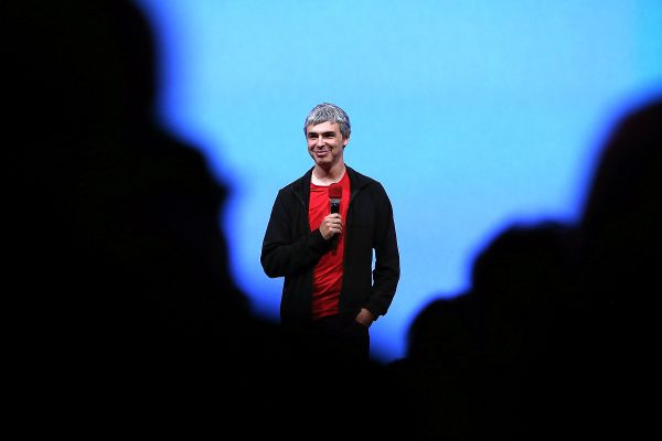 SAN FRANCISCO, CA - MAY 15:  Larry Page, Google co-founder and CEO speaks during the opening keynote at the Google I/O developers conference at the Moscone Center on May 15, 2013 in San Francisco, California. Thousands are expected to attend the 2013 Google I/O developers conference that runs through May 17.  (Photo by Justin Sullivan/Getty Images)