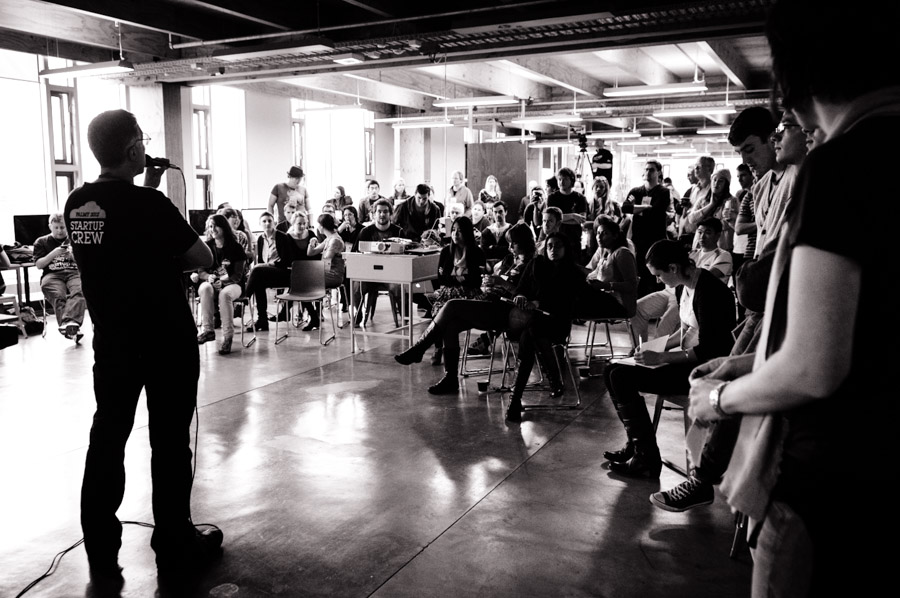 Pitching is storytelling. Your challenge: finding the narrative that drives your iPhone app idea.