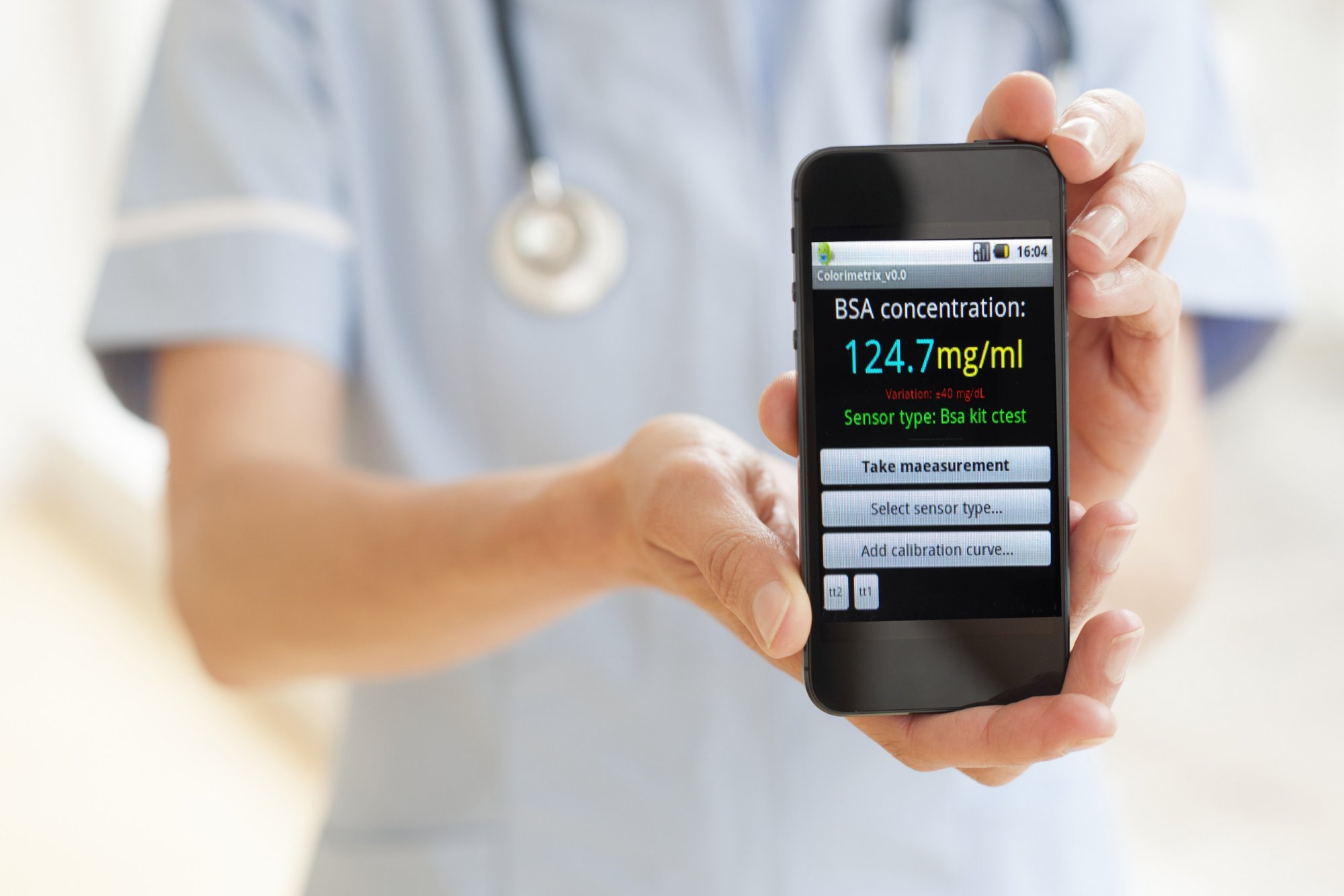 mobile phone health care applications