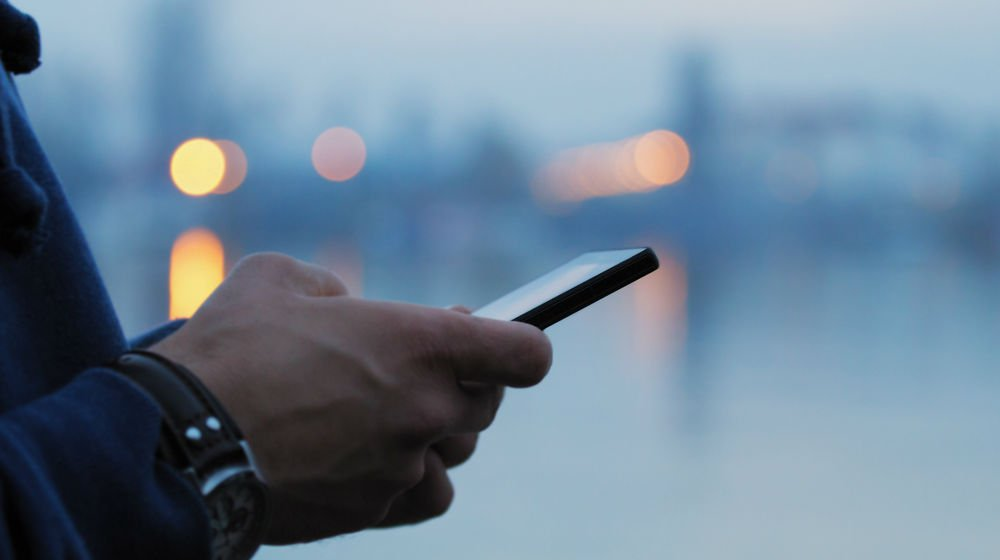 mobile app user