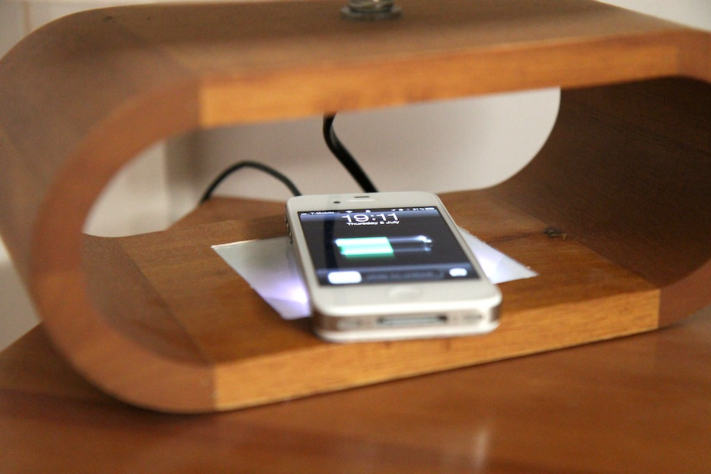 wireless charging iPhone in development
