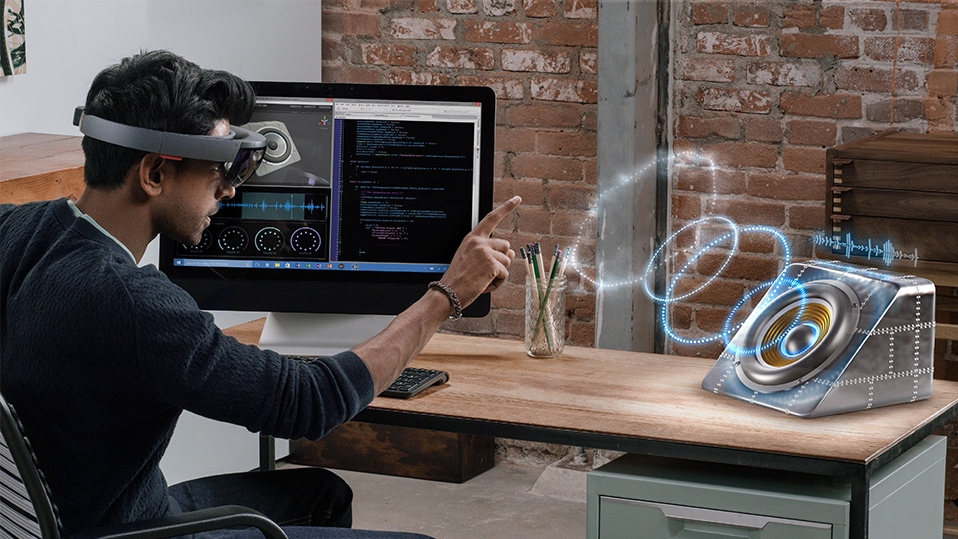 VR headset Microsoft