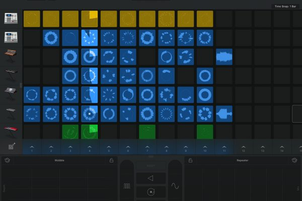 GarageBand iOS app features