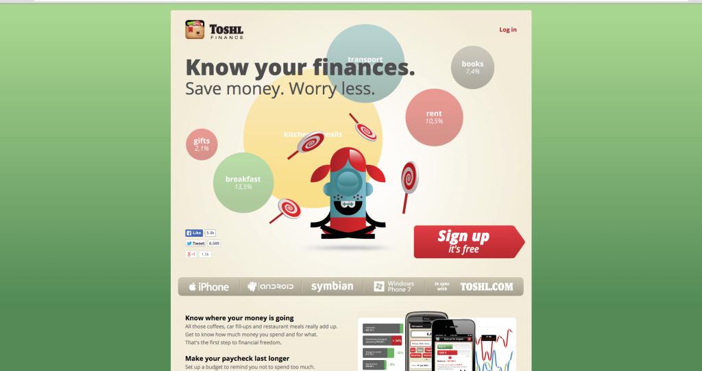 Financial app developers