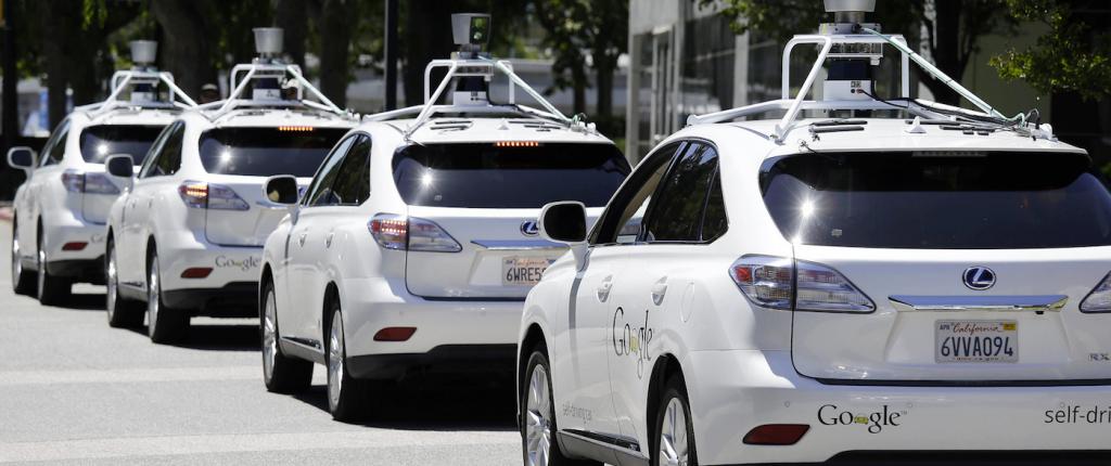 google driverless cars
