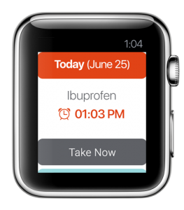 medbox apple watch app
