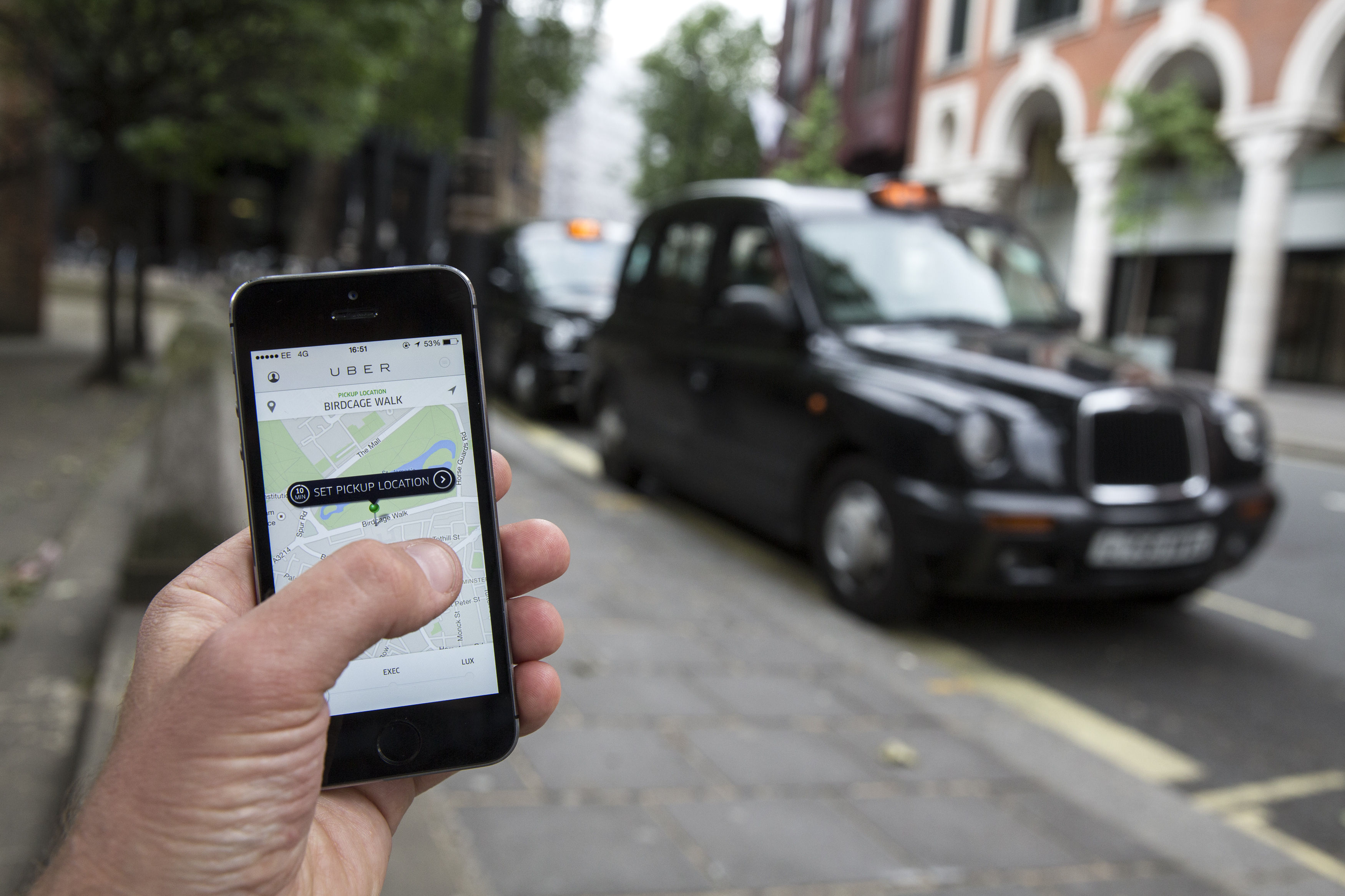 Uber is offering their network as a base for third-party delivery service startups.