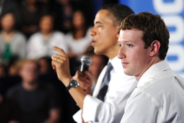 Zuckerburg used this year's GES to promot fbStart and Internet connectivity alongside President Obama.