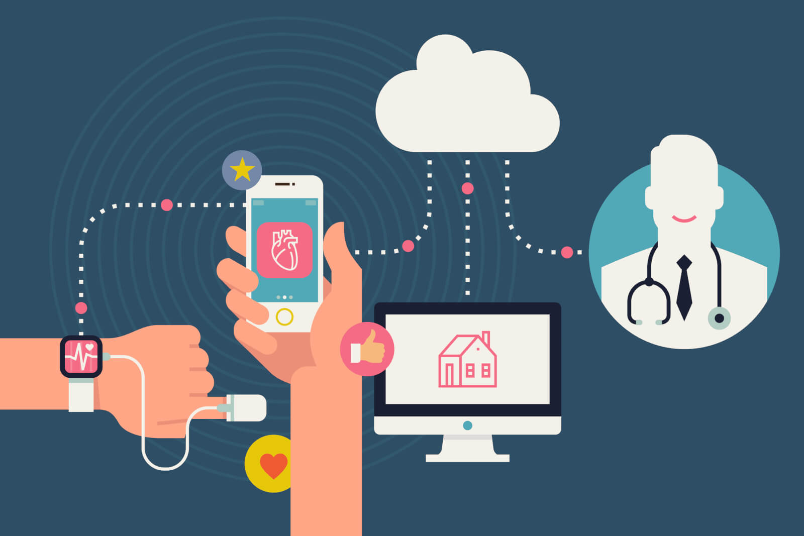 mHealth app development, healthcare mobile app developer, MedTech app development