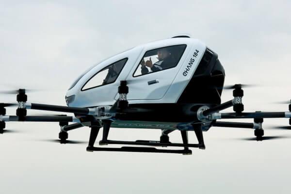 Chinese passenger drone