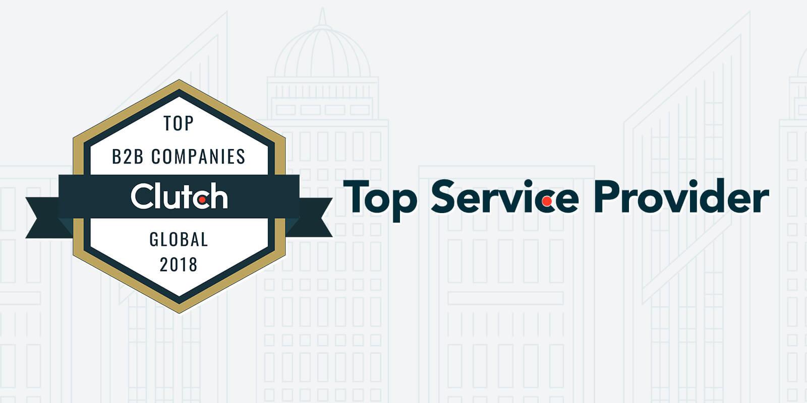 Clutch 1000 Top B2B Service Provider