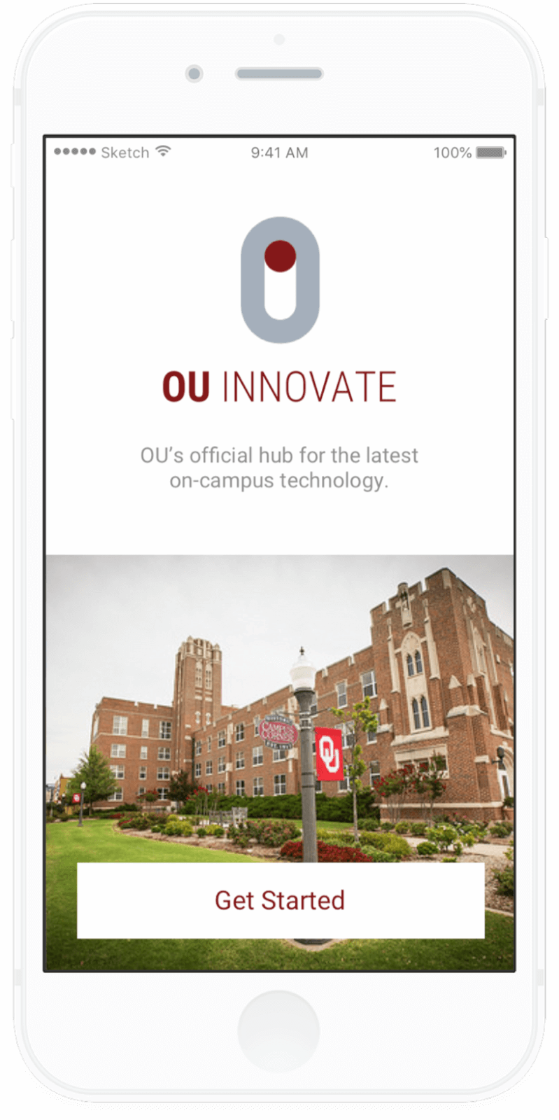 University of Oklahoma Innovate App