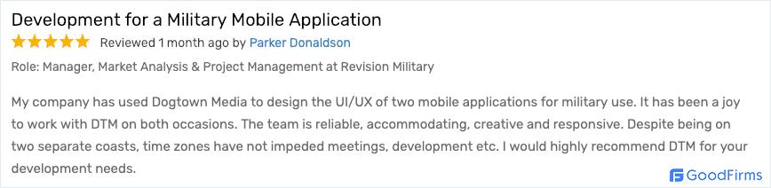 Revision Military Parker Donaldson