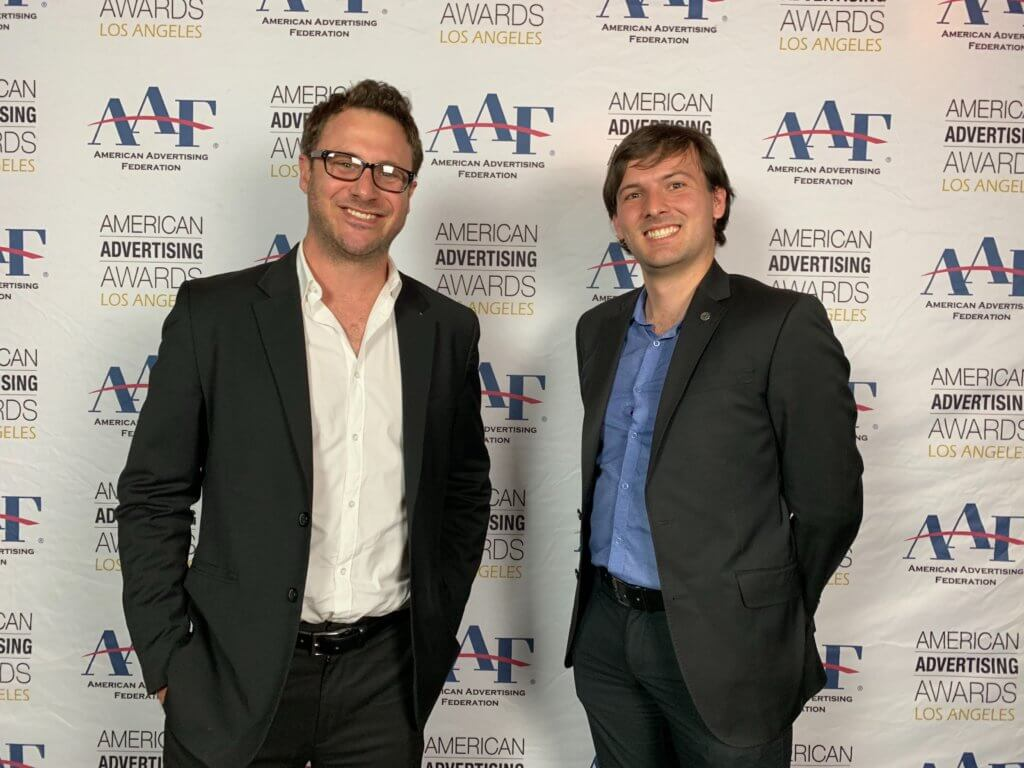 Marc Fischer and Patrick Ward attend Addys in Los Angeles